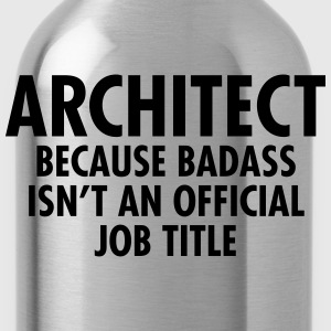 Architect - Badass Maglie a manica lunga - Borraccia