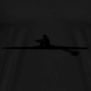 rowing - woman - aviron Sweat-shirts - T-shirt Premium Homme