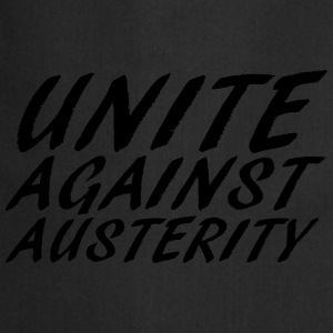 unite against austerity 2 T-Shirts - Cooking Apron