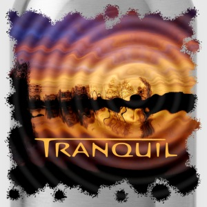 TRANQUIL Trance Music Bio-T-shirt - Trinkflasche