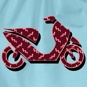 Scooter patroon T-shirts - Gymtas