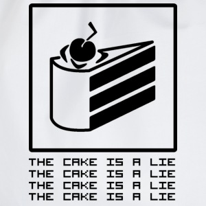 THE CAKE IS A LIE Tee shirts - Sac de sport léger
