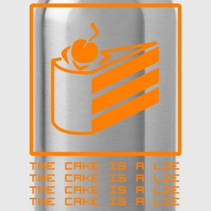 THE CAKE IS A LIE Sportkleding - Drinkfles
