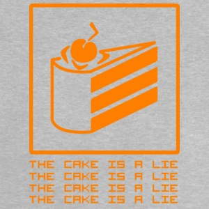 THE CAKE IS A LIE Langærmede shirts - Baby T-shirt