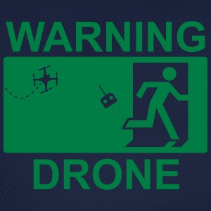 Warning drone T-Shirts - Baseball Cap