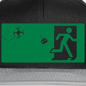 Warning Drone T-Shirts - Snapback Cap