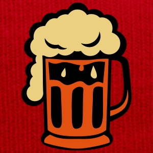 Beer mousse alcohol glass half 2005 T-Shirts - Winter Hat