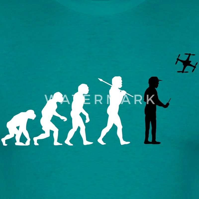 The drone evolution T-Shirts - Men's T-Shirt