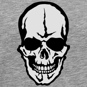 Death head skull 2005 Long sleeve shirts - Men's Premium T-Shirt