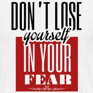 Don`t Lose yourself Langarmshirts - Männer Premium T-Shirt