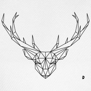 AD Geometric Deer Tee shirts - Casquette classique