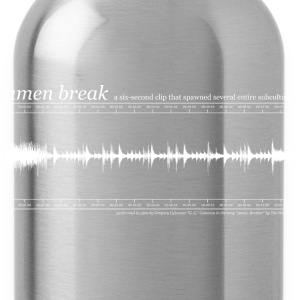 Amen Break T-Shirt - Trinkflasche