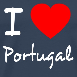 I LOVE PORTUGAL Tank Tops - Men's Premium T-Shirt