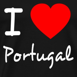I LOVE PORTUGAL Sweaters - Mannen Premium T-shirt