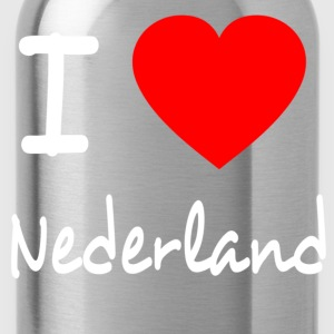 I LOVE THE NETHERLANDS Camisetas - Cantimplora