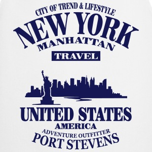 New York Skyline - United States T-Shirts - Cooking Apron
