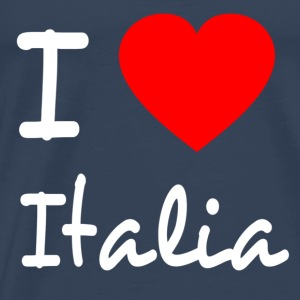 I LOVE ITALY Tops - Men's Premium T-Shirt