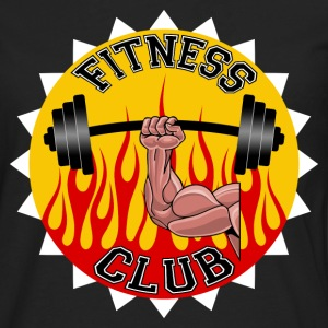 fitness club 04 Tee shirts - T-shirt manches longues Premium Homme