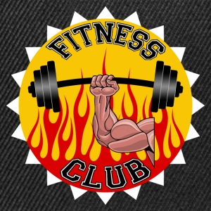 fitness club 04 Tee shirts - Casquette snapback