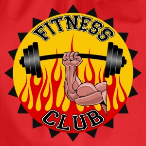 fitness club 03 Tee shirts - Sac de sport léger