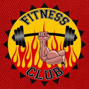 fitness club 03 Tee shirts - Casquette snapback