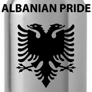 albanian pride T-Shirts - Trinkflasche