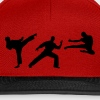 Martial Arts - 3 Fighters Caps & Hats - Snapback Cap