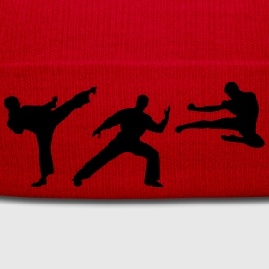 Martial Arts - 3 Fighters Hoodies & Sweatshirts - Winter Hat