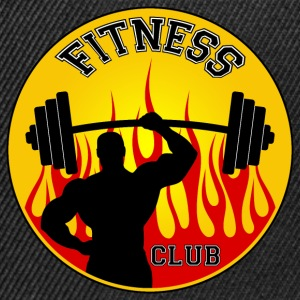 fitness club 05 Tee shirts - Casquette snapback