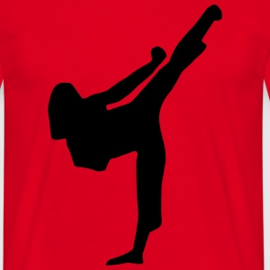 Martial Arts - woman  Aprons - Men's T-Shirt