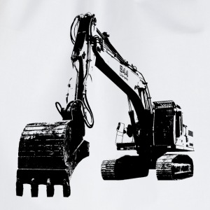 excavator Shirts - Drawstring Bag