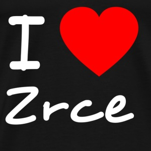 I love Zrce Shirts - Men's Premium T-Shirt