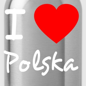 I love Polska T-shirts - Drinkfles
