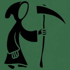 Dood met Scythe strip cartoon T-shirts - Keukenschort