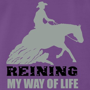 Reining - Sliding stop Tops - Men's Premium T-Shirt