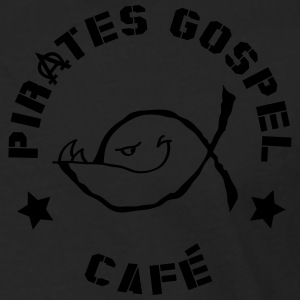Ichtus Pirates Gospel Café Sweat-shirts - T-shirt manches longues Premium Homme