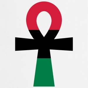 Red, Black & Green Ankh T-Shirts - Cooking Apron