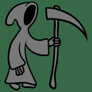 Strip cartoon dood met Scythe T-shirts - Keukenschort