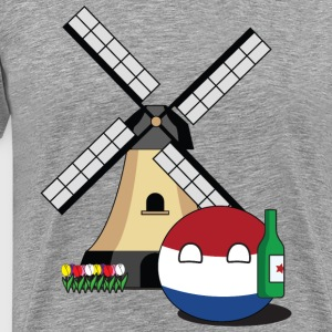 NetherlandsBall I Long Sleeve Shirts - Men's Premium T-Shirt