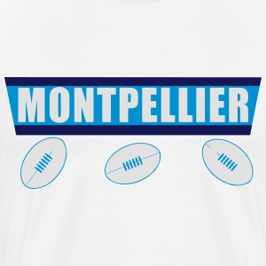 Montpellier rugby 2.2 Manches longues - T-shirt Premium Homme