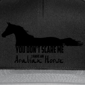 You don't scare me - Cheval Arabe Tee shirts - Casquette snapback