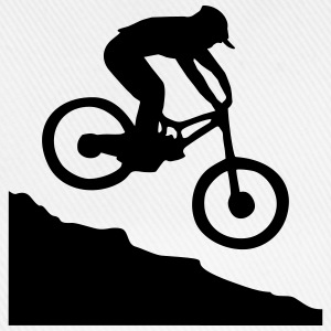 Downhill biking T-Shirts - Baseball Cap