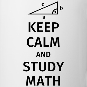 keep calm and study math T-shirts - Mok