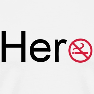 Hero (Quit Smoking) Tops - Men's Premium T-Shirt