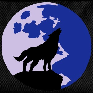 wolf and full moon Tee shirts - Sac à dos Enfant