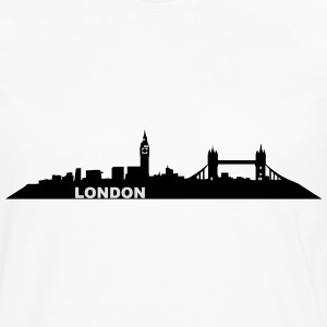 London Skyline - Men's Premium Longsleeve Shirt