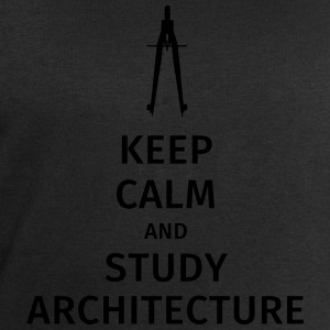 Keep Calm and study architecture Tee shirts - Sweat-shirt Homme Stanley & Stella