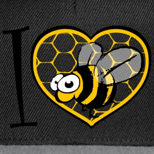 I LOVE bee s Tee shirts - Casquette snapback