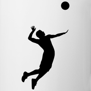 Volleyball, Volleyball Player Camisetas - Taza