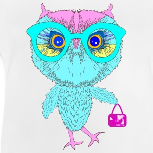 Hipster Owl Hoodies - Baby T-Shirt